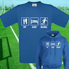 EAT, SLEEP, MILLWALL FOOTBALL T SHIRT / HOODIE - KIDS ADULTS  TOP