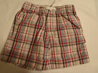 GYMBOREE Baby Boys 18-24 Month Pelican Catch Plaid Shorts NWT