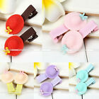 2Pc Hairpin Hair Clips Hair Accessories Fashion Bow Hat For Girls Baby Kids Gift