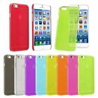 For iPhone 6s 6 Plus Clear Crystal Transparent Hard Thin Back Snap On Cover Case