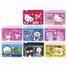 SANRIO HELLO KITTY POCHACCO JEWELPET TWO LAYERS PEARL PVC CARD HOLDER W/ ZIPPER