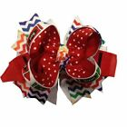 Back to School Crayon Boutique Hair Bow (You Pick Color)