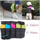New waterproof large Pet Dog puppy Clothes Winter Warm Vest Jacket Coat 11size
