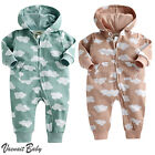 "NWT Vaenait Baby Infant Hooded One-pieces Romper Jumpsuit ""Hoodie Cloud"" 6-24M"