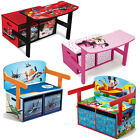 "Choose from: ""BRAND NEW"" Kids character convertible Bench / Study Desk / Toy Box"