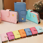 TPU LEATHER MAGNETIC WALLET CROWN CARD HOLDER CASE COVER FOR IPHONE 4 4S 5 5S
