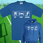 EAT, SLEEP, ROCHDALE FOOTBALL T SHIRT / HOODIE - KIDS ADULTS  TOP