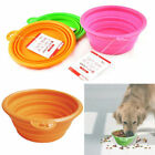 Pin up Sale Dog pet Cat Feeding Bowl Foldable Camping Water Food Dish Drink Bowl