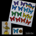 Transparent Film Butterfly #17 CHAKRA Size 3 PRE-CUT 8, 16 or 32 suncatcher 3D
