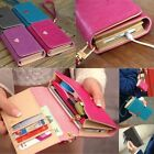 Apple iPhone 4 4S & 5 /Galaxy S/Smart Phone Case Card Coin Wallet Smart Purse