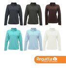 Regatta Womens Half Zip Anti-Pill Mid Layer Soft Touch Fleece Jacket
