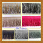 FRINGE- FRINGING TASSEL IN 18 colours WHITE, BURGUNDY, GOLD, BLACK etc - 11cm