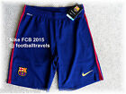 M or L BARCELONA NIKE HOME 2015 DRI-FIT Football Shorts Soccer Calcio NEW