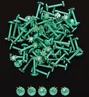 New Anodised Titanium Green Pot Ganja Cannabis Leaf Gem Tragus Cartilage Bar
