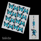 Transparent Film Butterfly #11 ULYSSES size 4 UN-CUT 4, 8 or 16 suncatchers 3D