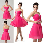 New Ladies Cocktail Bridesmaid Evening Mini Prom Party Homecoming Dresses 8 Size