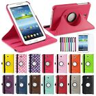 "Rotating Leather Case Cover for Samsung Galaxy Tab 3 7 7.0"" Inch P3200 Tablet"