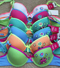 LOT Frog I love Starring Star WIRE Demi Girl 28A 30A 32A 34A Cotton Teenager Bra