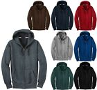 MEN'S SUPER HEAVYWEIGHT, ZIP UP HOODIE, HEAVIEST WEIGHT FLEECE S M L XL 2X 3X 4X