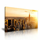 New York Manhattan Modern Wall Art Canvas Print Framed Box ~ Many Sizes & Style