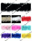 10m Marabou String Swansdown Fur Trimming Fluffy Feather Trim - Lots of Colours!