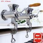 4X 8# STAINLESS STEEL MANUAL MEAT GRINDER WITH S/STEEL FOOD GRADE PLATES