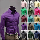 Original Type Charmant homme chemise 17 couleur Mens Shirts Tee Tops Fashion