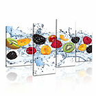 FOOD&DRINK Fruits Berry 6 4A-RH Canvas Framed Printed Wall Art ~ More Size