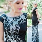 Womens New Red Carpet Long Fishtail Evening Gown Formal Dress 08338 UK Size 6-18