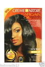 CREME OF NATURE WITH ARGAN OIL FROM MOROCCO RELAXER( REGULAR & SUPER) NEW LOOK
