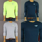 NWT Hollister Mens Hco Sport Shirt Fast Dry Fabric Muscle Fit Sweat Shirt