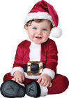 Baby Santa Infant Toddler Costume Holiday Christmas Photo InCharacter Red Unisex