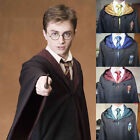 Kid Harry Potter Gryffindor/Slytherin/Hufflepuff/Ravenclaw Cloaks Robes Costumes
