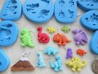 Sugarcraft/Fimo MOULD: Dinosaur / Volcano (Single or Sets - Choice of Sizes)
