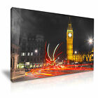 CITYSCAPE Europe UK LONDON BUS 6 1L Canvas Framed Printed Wall Art ~ More Size