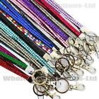 Quality Bling Lanyard Rhinestone Diamonte Crystal Neck ID Card Mobile Holder