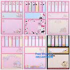 JAPAN SANRIO HELLO KITTY MELODY POM POM PURIN PAPER STICKY NPTES N TIMES POSTED