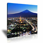 CITYSCAPE Asia Japan 9 1S Canvas Framed Printed Wall Art ~ More Size