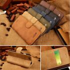 Cowhide Genuine Leather Flip Stand Wallet Case Cover For Samsung Galaxy Note 4