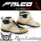ITALIAN FALCO EXEL SAND MOTORCYCLE MOTORBIKE BIKE SCOOTER TOURING CASUAL BOOTS