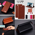 Genuine Luxury Leather Flip Stand Case Cover For iPhone 5G 6 6 plus