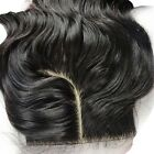 4''x4'' Hot J part lace closures virgin Brazilian hair silk base bleached knots