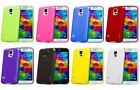 RUBBER TPU GEL CASE COVER FOR THE NEW SAMSUNG S5 SM G900F WITH SCREEN PROTECTOR