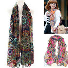 WOMAN BEAUTIFUL SCARF SHAWL STOLE NICE FERRIS WHEEL PRINT PASHMINA SCARVES B10DH