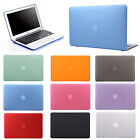 """Crystal Hard Case Shell Protector Cover for Macbook Air 11"""" 13"""" 13.3"""" Sleeve Bag"""