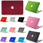 "High Quality Rigid Plastic Hard Case Cover For Macbook 11"" 13"" 15'' Laptop Shell"