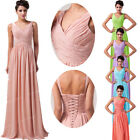 XMAS GIFT Long Evening Ball Gown Prom Party Cocktail Bridesmaid Debut Maxi Dress