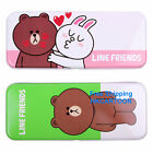 TAI WAN TOMY LINE FRIENDS BROWN&CONY 2 LAYERS METAL PENCIL CASE 898293