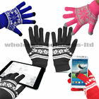 Unisex Christmas Xmas Touch Screen Mobile Warm Gloves iPhone Winter Magic