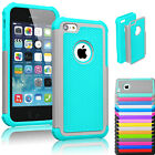 Shockproof Heavy Duty Hybrid Rugged Rubber Hard Case Cover For Apple iPhone 5C
